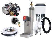 1-Flavor Tower Soda Fountain System w/ Remote Chiller (L4100)
