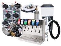 6-Flavor Tower Soda Fountain System w/ Remote Chiller (L3600)