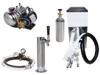 Seltzer Draft Arm (Cylinder) Soda System w/ Lancer Remote Chiller (L1000c)