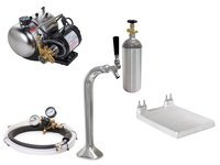 Seltzer Draft Arm (Snake) Soda System with Cold Plate (s1000s)