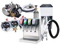 4-Flavor Tower Soda Fountain System w/ Remote Chiller (L3400)