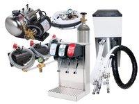 3-Flavor Tower Soda Fountain System w/ Remote Chiller (L3300)