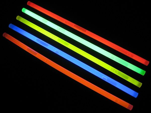 "12"" Glow Sticks Assorted Colors"