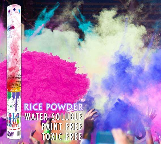 Pink Powder Cannon