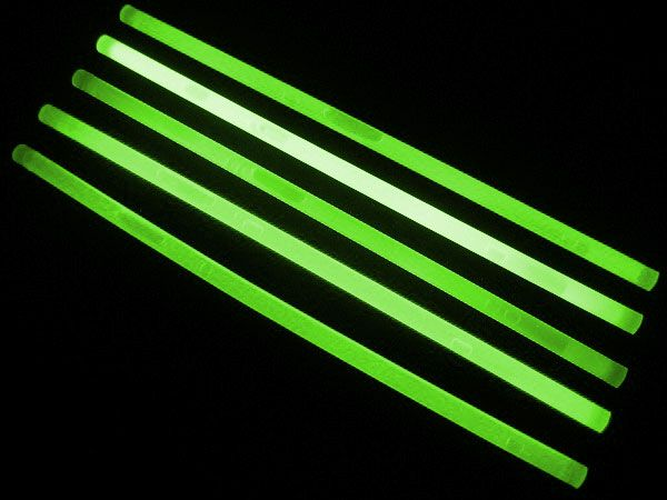 "12"" Glow Sticks Green"