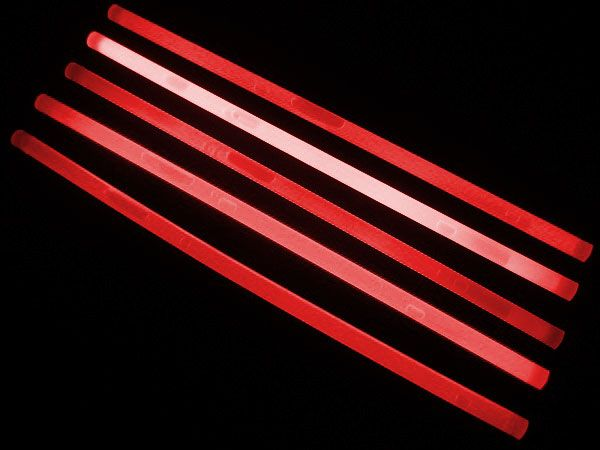 "12"" Glow Sticks Red"