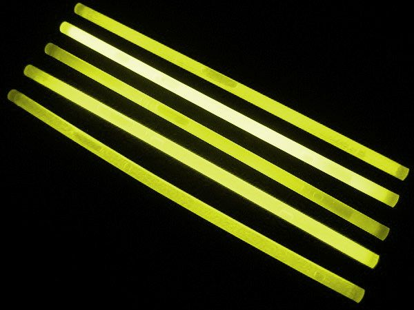 "12"" Glow Sticks Yellow"