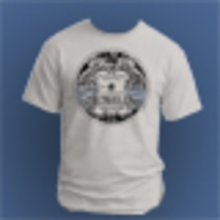 Strokeland Record Label T-Shirt, Grey - Size 2XL