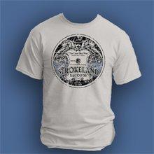 Strokeland Record Label T-Shirt, Grey - Size XL