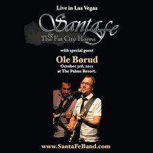 Live with Ole Børud - Santa Fe and the Fat City Horns (DVD)