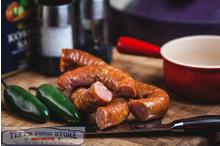 Smoked Jalapeno Chicken Sausage