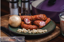 Smoked Pepper Jack and Onion Sausage