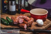 Smoked Jalapeno Garlic Sausage