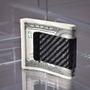 Koolstoff Carbon Fiber Money Clip (Front)