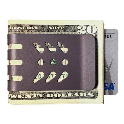 The mini-VIPER™ Titanium Money Clip - NASA Optical Gray