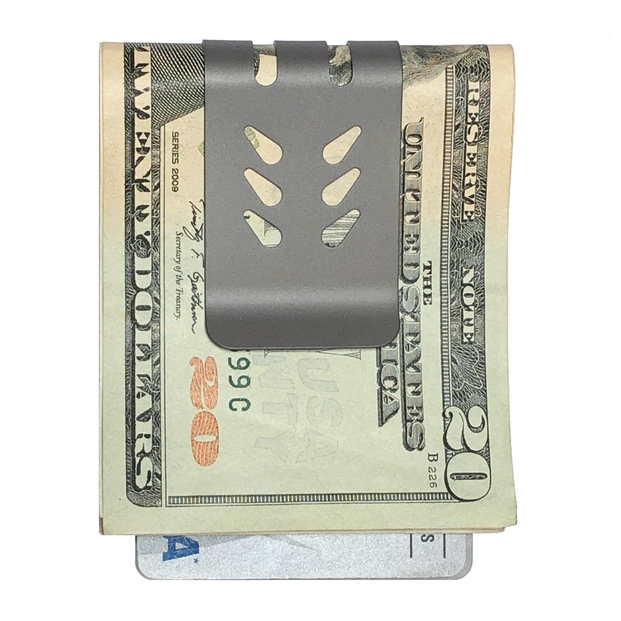 mini-VIPER Money Clip - NASA Optical Gray Finish