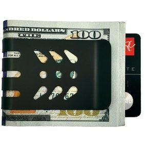 The VIPER™ Titanium Money Clip - Black Diamond Finish