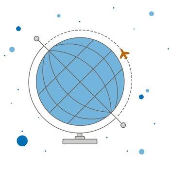 Globe Poster - Small