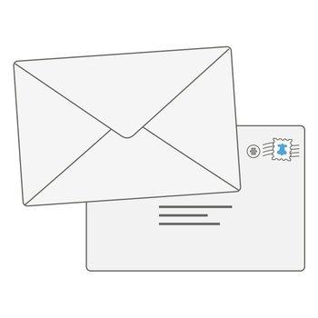 Mail Art Print 22x36in