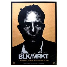 """Kinsey """"BLK/MARK 10 Year Anniversary"""" Signed Screen Print"""