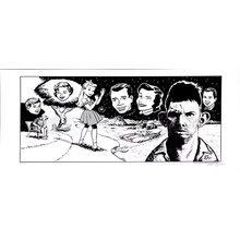 """KRK Ryden """"Rendevous"""" Black & White Signed Print"""