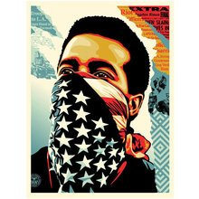 """Obey Giant """"American Rage"""" Signed Screen Print"""
