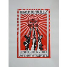 """Toyroom """"Images By Shepard Fairey"""" Show Poster"""