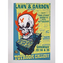 """Toyroom """"Lawn And Garden"""" Show Poster"""