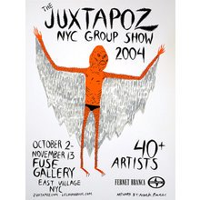 "Neckface - Juxtapoz ""NYC Group Show 2004"""