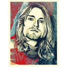 "Obey Giant ""Kurt Cobain - Endless Nameless"" Signed Screen Print"