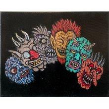 "Aeron Alfrey ""Monster Masks"""