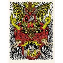 "Skinner - ""Malevolent Child Collector"" Signed Screen Print"