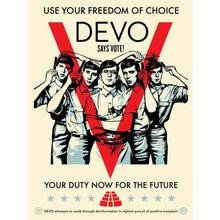 "Obey Giant ""Devo Vote"" Signed Screen Print"