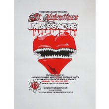 "Toyroom ""St. Valentines Massacre"" Show Poster"