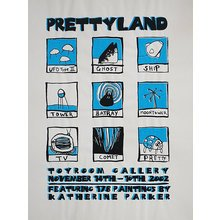 "Toyroom ""Prettyland"" Show Poster"