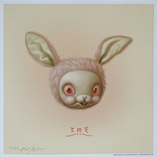 "Mark Ryden ""Rosies Tea Bunny"" Signed"