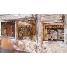 "David Choe ""Hopper's"" Signed Giclée Print"