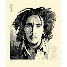 "Obey Giant ""Bob Marley - Confrontation"" Signed Letterpress"