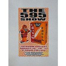 "Toyroom ""595"" Show Poster - Orange Variant"