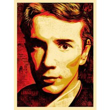 """Obey Giant """"Product Of Your Society - John Lydon"""" Signed Screenprint"""