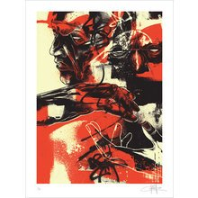 """Kinsey """"Duality"""" Signed Screen Print"""