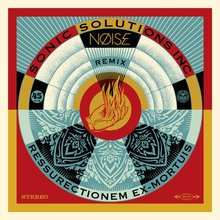 "Obey Giant ""Noise/SSI Resurrectionem Ex-Mortuis Remix"" Signed Screen Print"