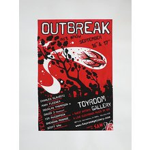 """Toyroom """"Outbreak"""" Show Poster"""
