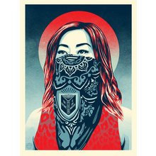 """Obey Giant """"Just Future Rising"""" Signed Screen Print"""