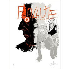 """Kinsey """"Pollute"""" Signed Screen Print"""