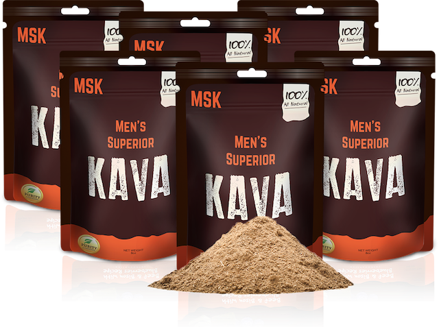 6 Pack of Men's Superior Kava