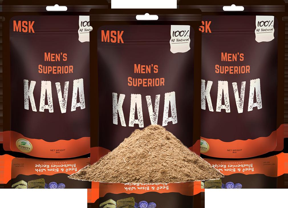 3 Pack of Men's Superior Kava