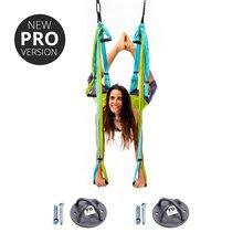 Yoga Trapeze - Aqua PRO - w/Ceiling Hooks, FREE Shipping